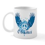 Obama Peace Symbol Mug