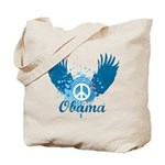 Obama Peace Symbol Tote Bag