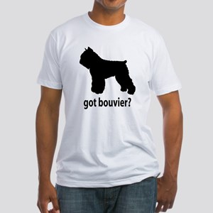 Got Bouvier? Fitted T-Shirt