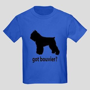 Got Bouvier? Kids Dark T-Shirt