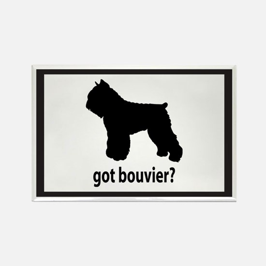 Got Bouvier? Rectangle Magnet