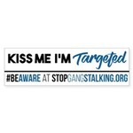 Bumper Sticker - 50 Pack - Kiss Me I'm Targete