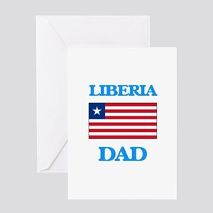 Liberia Dad Greeting Cards