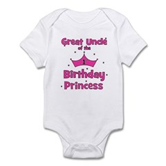 Great Uncle of the 1st Birthd Infant Bodysuit