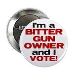"""Bitter Gun Owner 2.25"""" Button (100 pack)"""