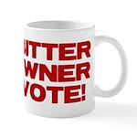 Bitter Gun Owner Mug