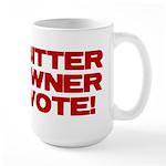 Bitter Gun Owner Large Mug