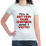 Bitter Gun Owner Jr. Ringer T-Shirt
