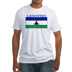 Lesotho Flag Shirt