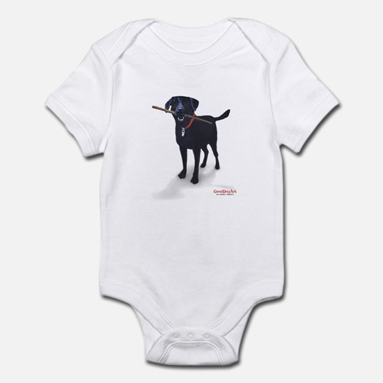 STICK CHASER Infant Bodysuit