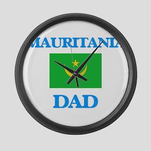 Mauritania Dad Large Wall Clock