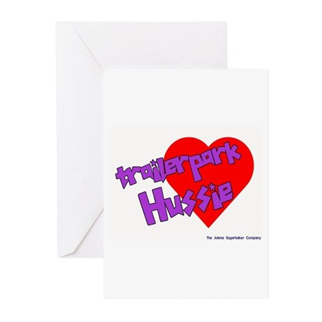 Trailer Park Hussie Greeting Cards (Pk of 10)