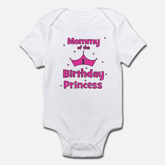Mommy of the 1st Birthday Pri Infant Bodysuit