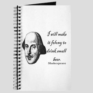 Shakespeare - Beer quote Journal