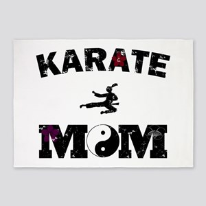 Karate MOM 5'x7'Area Rug