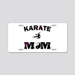 Karate MOM Aluminum License Plate