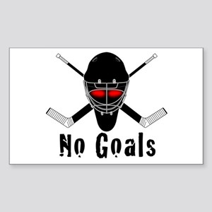 NoGoals Rectangle Sticker