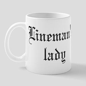 Linemans lady Mugs