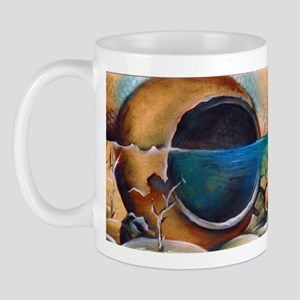 Vase in water art Mug