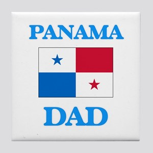 Panama Dad Tile Coaster