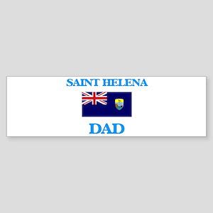 Saint Helena Dad Bumper Sticker