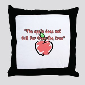 Apples Throw Pillow