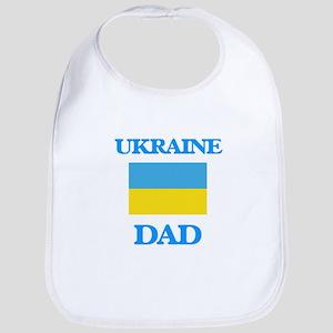 Ukraine Dad Baby Bib