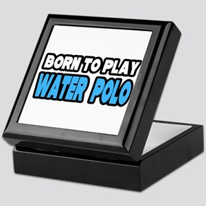 """Born to Play Water Polo"" Keepsake Box"