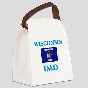 Wisconsin Dad Canvas Lunch Bag