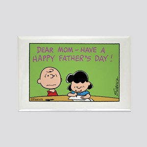 Dear Mom, Happy Father's Day! Rectangle Magnet