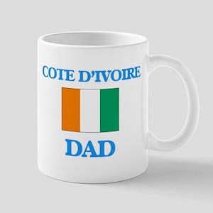 Cote D'Ivoire Dad Mugs