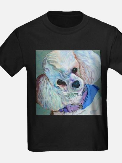 White Poodle T