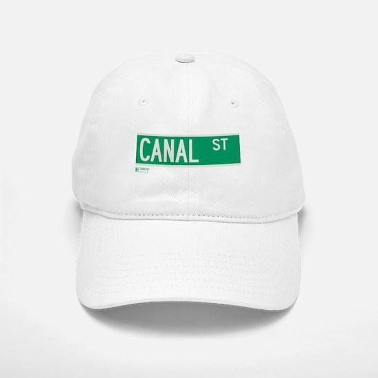 Canal Street in NY Baseball Baseball Cap