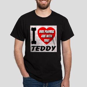 I Love Teddy Kennedy Dark T-Shirt