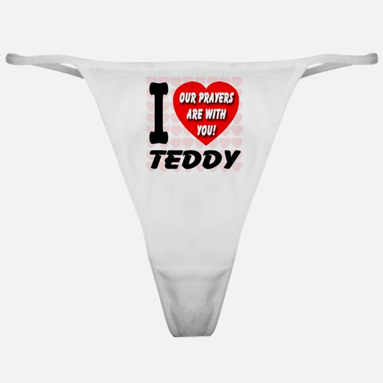 I Love Teddy Kennedy Classic Thong