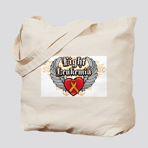 Fight Leukemia Orange Tote Bag