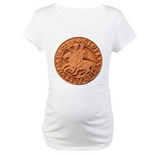 Wax Templar Seal Maternity T-Shirt