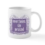 She Persisted paisley Mugs
