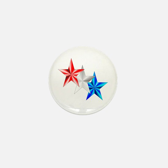 Stars Mini Button