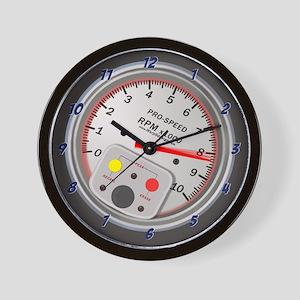 Tachometer Wall Clock