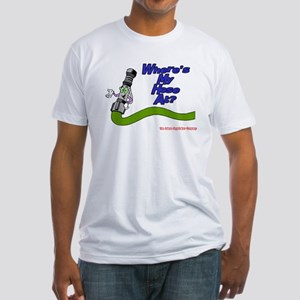 Where's My Hose At: Fireman Fitted T-Shirt