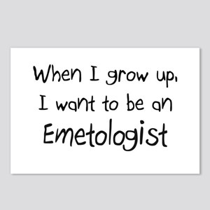 When I grow up I want to be an Emetologist Postcar