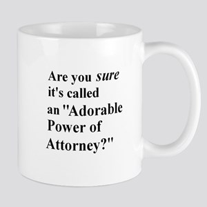 Power of Attorney Mug