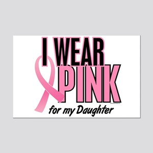 I Wear Pink For My Daughter 10 Mini Poster Print