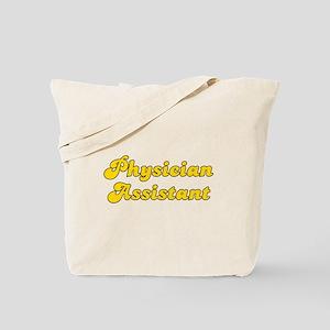 Retro Physician A.. (Gold) Tote Bag