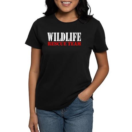 Wildlife Rescue Team Women's Dark T-Shirt