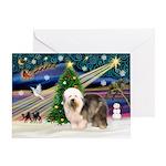 Xmas Magic & OES #5 Greeting Card