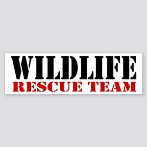 Wildlife Rescue Team Bumper Sticker