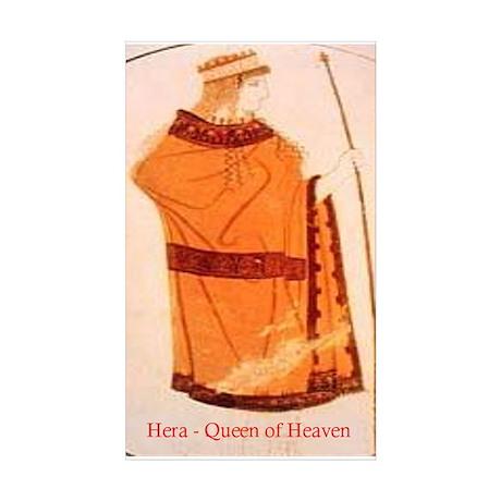 Hera Rectangle Sticker 50 pk)