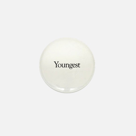 Youngest (new baby) Mini Button
